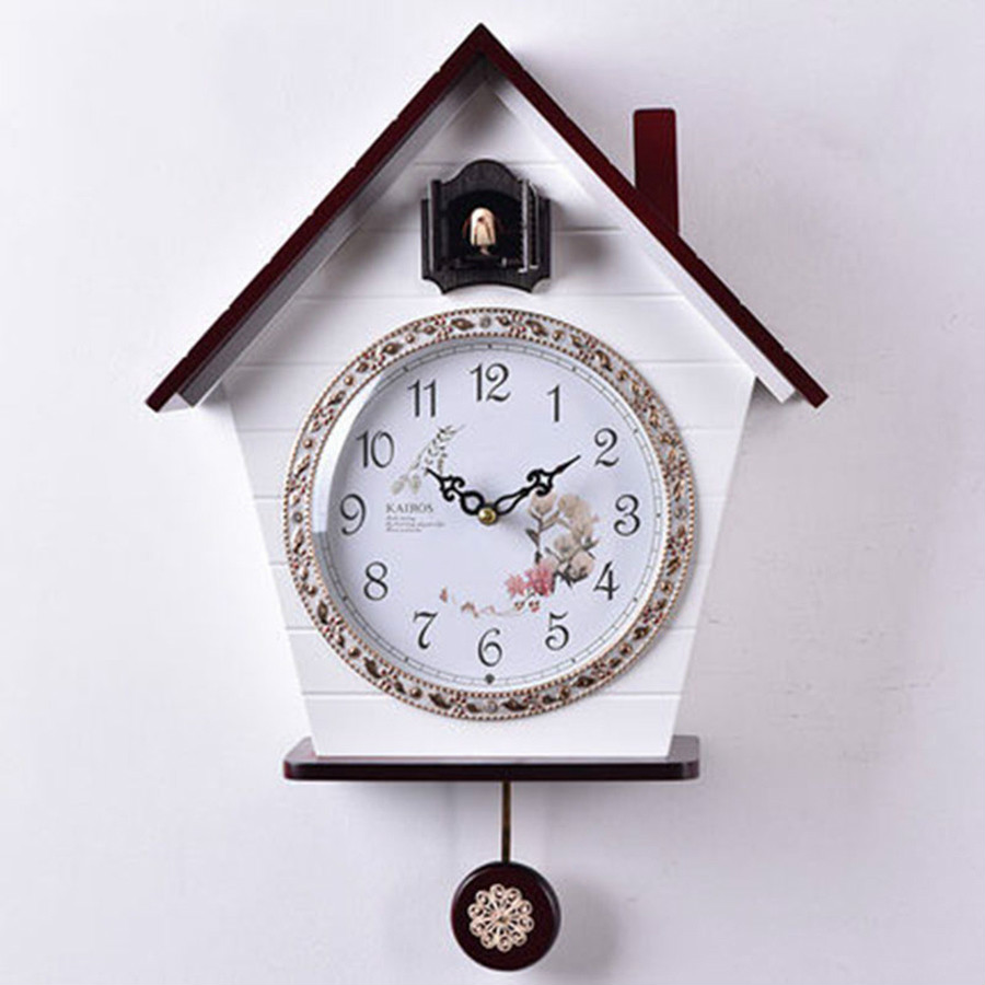 Cuckoo Clock Living Room Wall Clock Bird Cuckoo Alarm   European Wood Cuckoo Quartz Timekeeping Clocks Vintage 3DBGV82Cuckoo Clock Living Room Wall Clock Bird Cuckoo Alarm   European Wood Cuckoo Quartz Timekeeping Clocks Vintage 3DBGV82