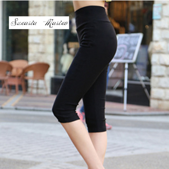 16 color high Waist Women's casual pants  slimming capris S-6XL size Pencil pants 2017 Summer fashion Trousers