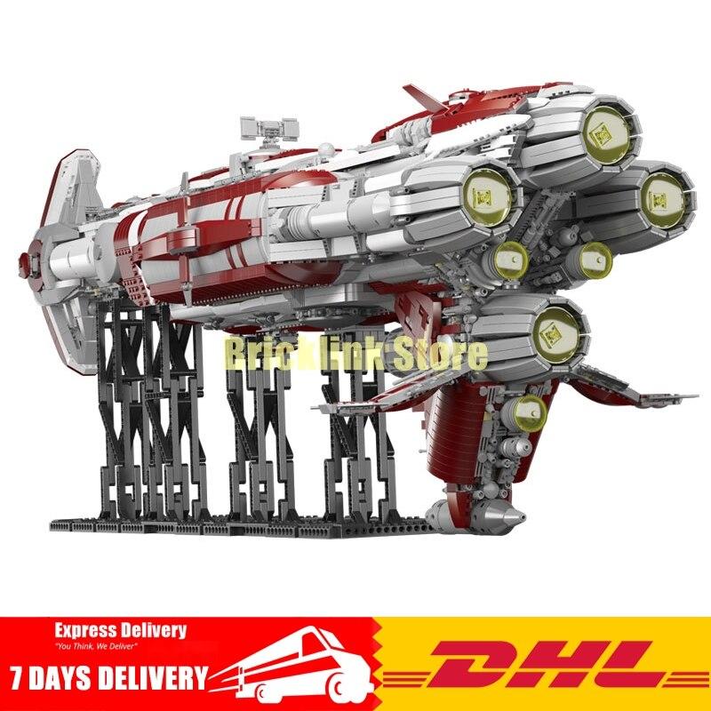 2018 DHL Lepin 05079 7956pcs Star Plan War Series The MOC Zenith Old Republic escort cruiser Set Building Blocks Bricks rollercoasters the war of the worlds