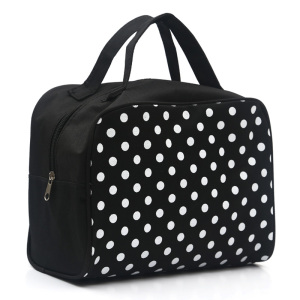 New Lady Multi Functional Cosmetic Storage Dots Bags Women Makeup Bag With Pockets Toiletry Pouch Travel Accessories sac(China)