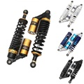 "Universal 13.5 ""340mm Air Shock Absorber Suspensão Traseira Primavera Scooter Dirt Bike Quad Gokart ATV Preto Azul Ouro Branco D25"