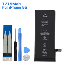 Built-in Lithium Battery For iPhone 6S Replacement Accumulator 1715mAh Iphone 6 s Mobile Phone with Tool Kit