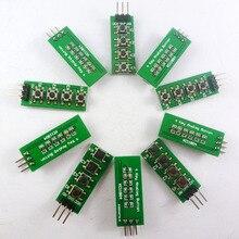 10 pces com código de exemplo uno mega2560! 3.3 v 5 v 4 botões 1 saída analógica ad teclado botão para arduino