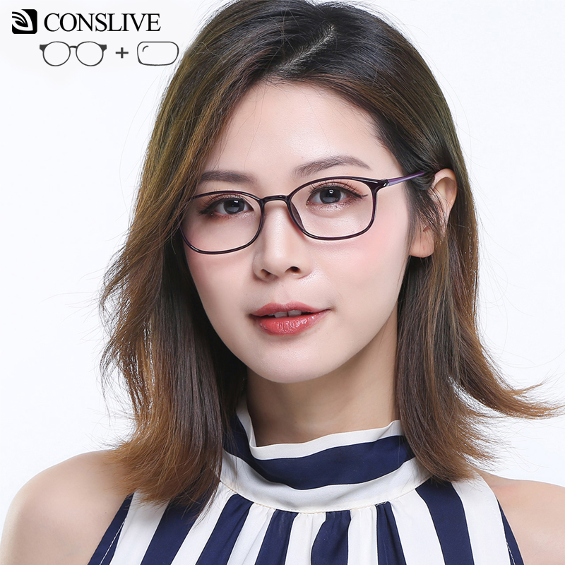 Prescription Glasses Dioptric Progressive Women Lenses Optical-Frame Multifocal Small