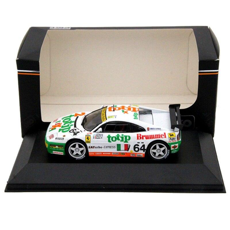 IXO 1:43 F348 GT N64 Totip 24 HLe Brummel Diecast Models Toys Cars Hobbies Collection