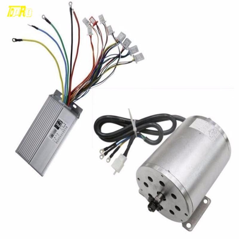 48V 1800W Electric Brushless Controller motor grip ATV Go Kart Scooter 1800 Watt Business & Industrial