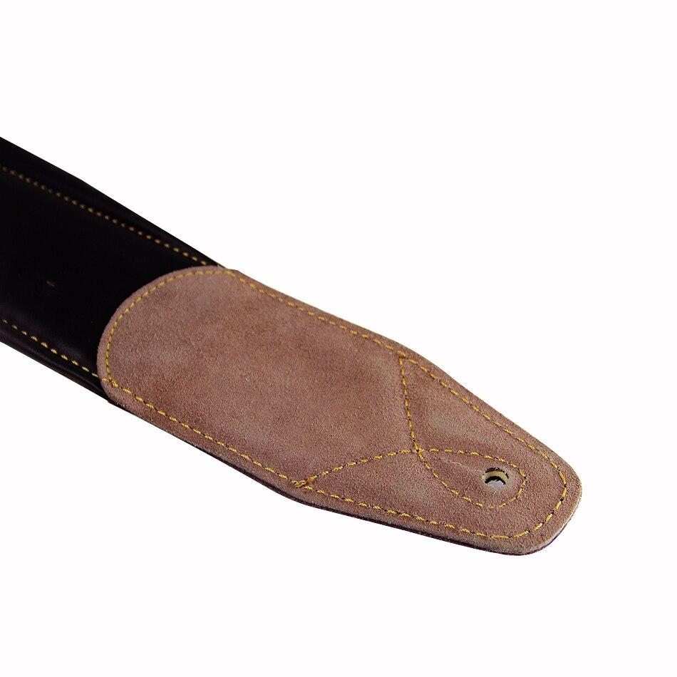 Dark Brown Leather Double Padded 100% handgemaakte guita basgitaar - Muziekinstrumenten - Foto 3