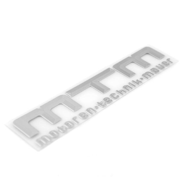Car styling car sticker design motorcycle accessories high quality mtm metal sticker car accessories custom
