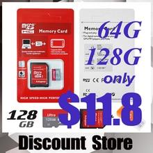 Memory card micro sd card 128GB class 10 4GB 8GB 16GB 32GB 64GB 128GB sd card real capacity class 10 flash card wit gift adapter
