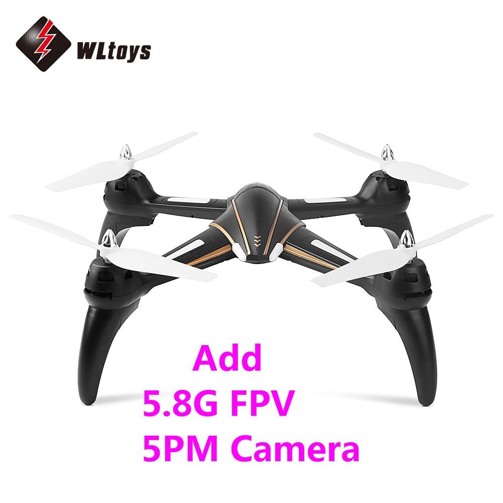 Original WLtoys Q393 RC Drone RTF Dual-way 2.4GHz 4CH / Headless Mode / Air Press Altitude Hold with Camera