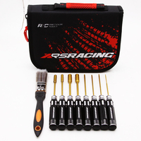 XRSRACING High quality 1.5/2.0/2.5/3.0 titanium service tool combination 7/8/9 Easy carry tools set for RC car