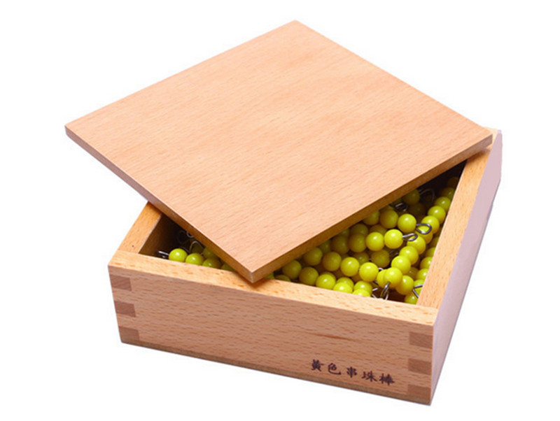New Wooden Baby Toy Montessori 35 Strings 10 of Each String Early Childhood Education Preschool Training Kids Toys Baby Gifts