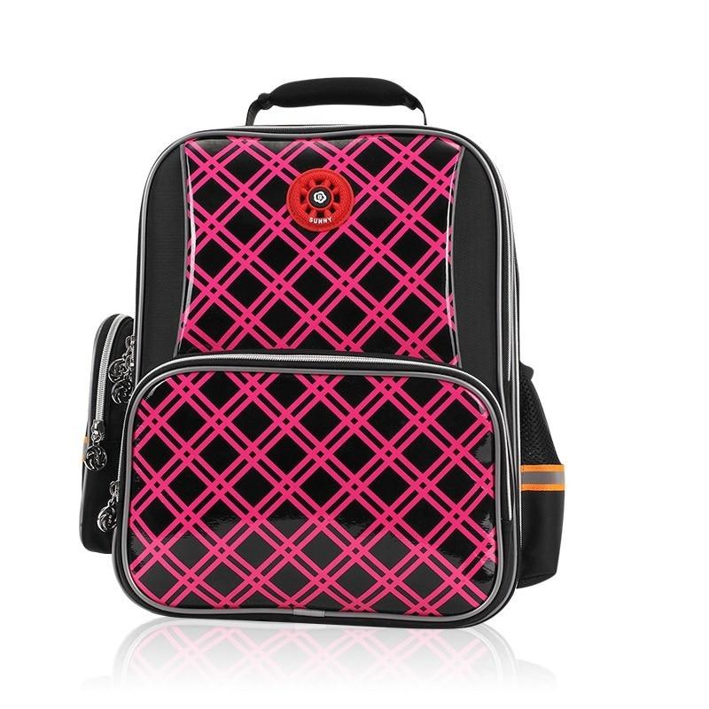PVC+Nylon waterproof plaid backpacks kids travel bag children school bags  bolsa mochila infantil escolar for teenagers girl boys 026d38cc31