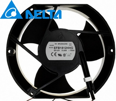 EFB1512HHG 17CM 17*15*5.1CM 170*150*51MM 1750 17251 12V 2A cooling fan цены