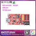 16*1024 pixels levou controlador de porta USB cartão Onbon BX-5UT LEVOU controle cartão para display led p10 ao ar livre conduziu o sinal levou placa de tela