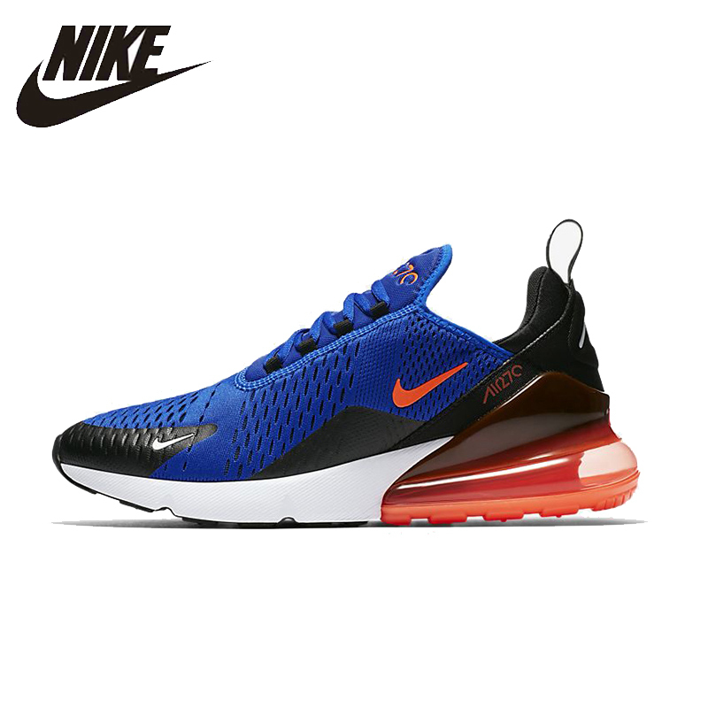 NIKE AIR MAX 270 Unisex Running Shoes Breathable Stability Comfortable Support Sports Sneakers For Women And Men Shoes professional kumpoo unisex shoes badminton light cushioning comfortable sports sneakers for men and women breathable kh 205 l799
