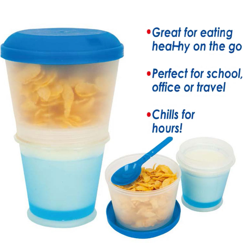 Portable Cereal Bowl