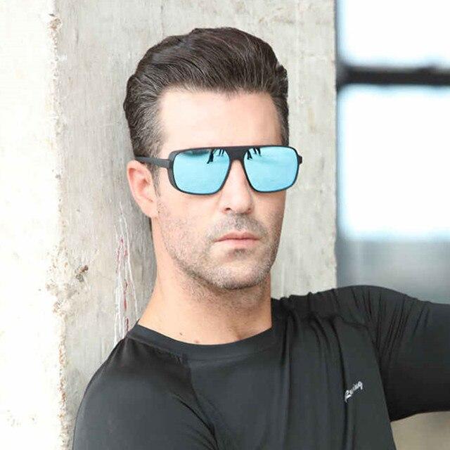 Long Keeper Light-weight Polarized Men Punk Retro Sun Glasses Steampunk Driving  Mirror Reflective Sunglasses Women Goggles 1