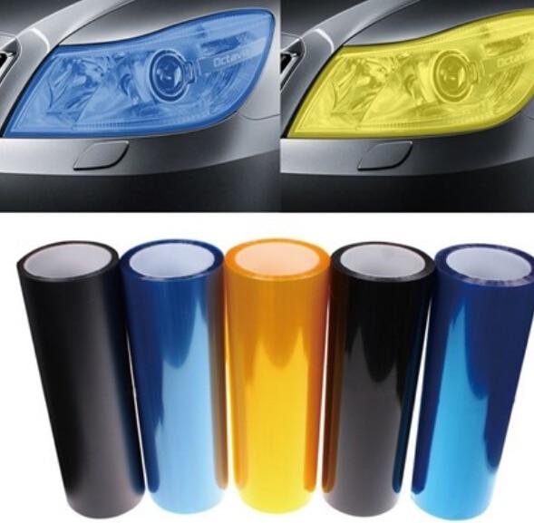 🛒 Auto Car Light Head Taillight Vinyl Film Sticker For VW