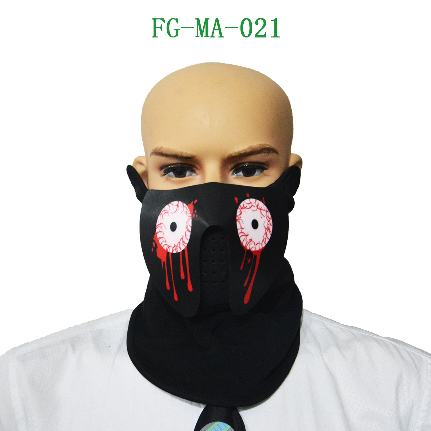 Modest Cold Light Mask Voice Control Light Latest Hot Products El Light Music Flash Gift
