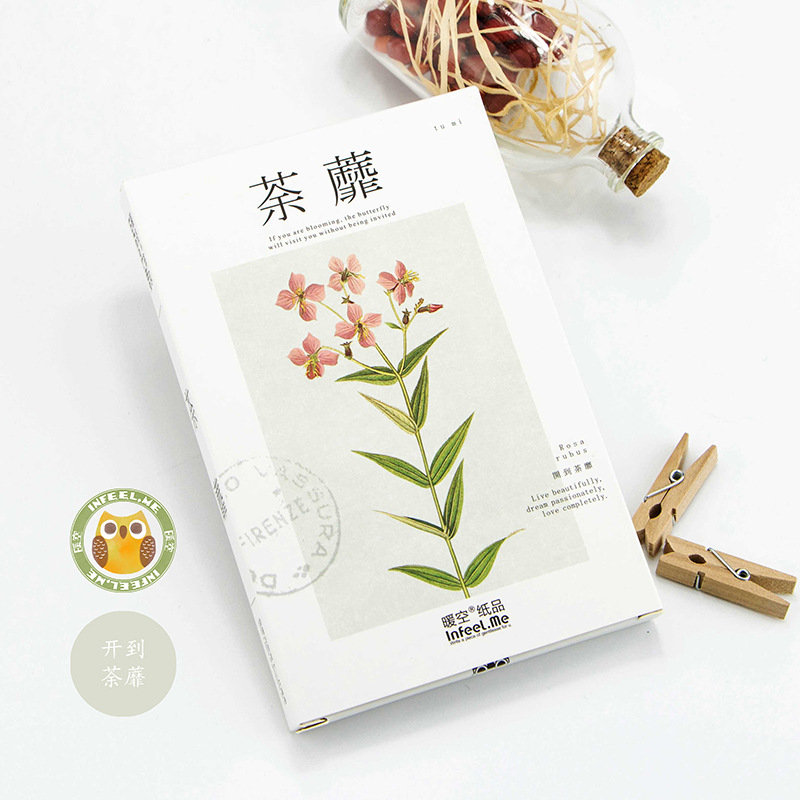 30pcs /1lot Cute Tea end Greeting Cards Postcards Birthday Letter Business Gift Card Set Message Card