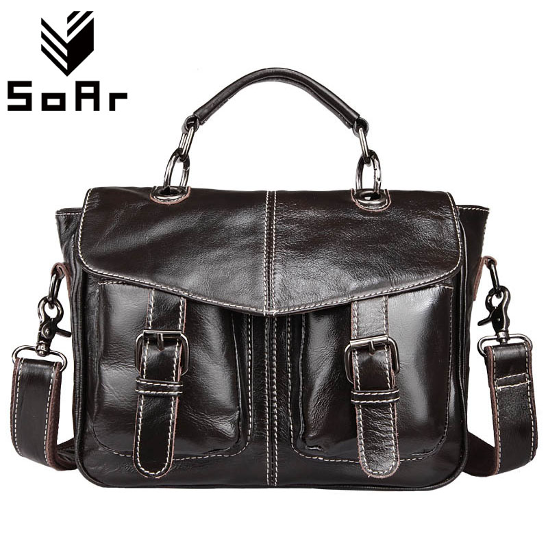 SoAr Travel Bag Business Men Bag Shoulder Messenger Bags G Genuine Leather Briefcases Laptop Male Handbags Totes High Quality men business travel crossbody shoulder handbags bag luxury style messenger bag high quality large capacity genuine leather bags