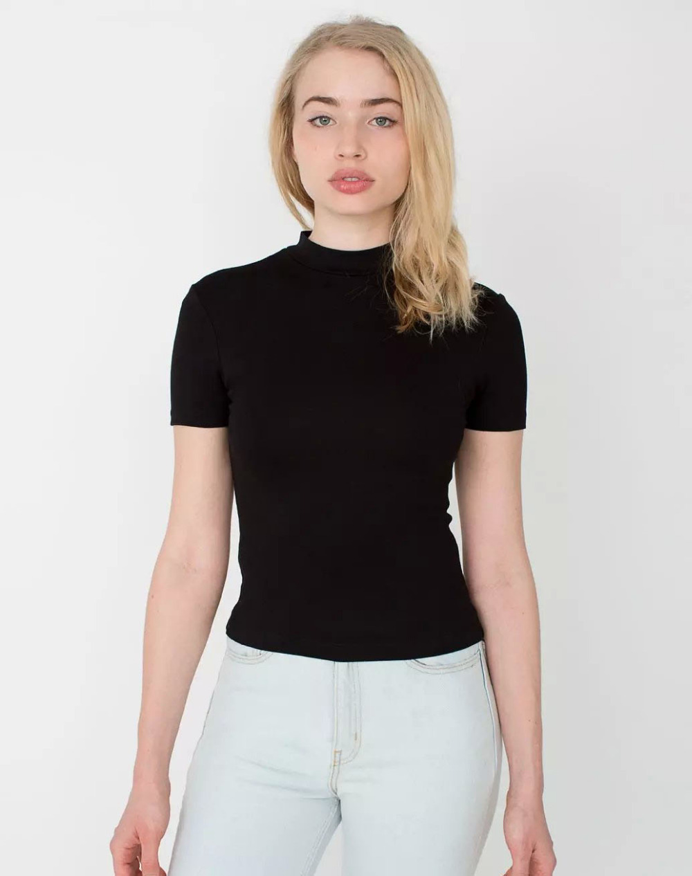 Buy black turtleneck t shirt 59 off for Turtleneck under t shirt