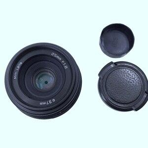 Image 4 - Newyi Mini 25Mm F1.8 aps c televizyon Tv Lens/Cctv Lens 16Mm C montaj kamera