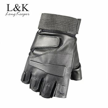 мужские перчатки без пальцев 5