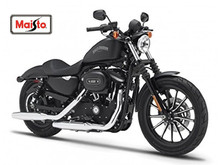 Maisto 1 18 Harley 2014 Sportster IRON 883 MOTORCYCLE BIKE Model FREE SHIPPING