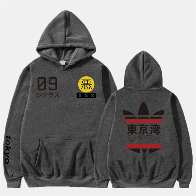 2019 New Men Women Hoodies harajuku Spring Sweatshirts Tokyo Bay Hoodies outwear Fashion Rubber powder Hip-Hop boys Clothes  4