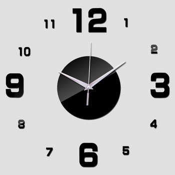 Hot sale 2020 promotion real wall clock watch clocks Living Room Quartz Acrylic stickers Single Face 20inch modern 1