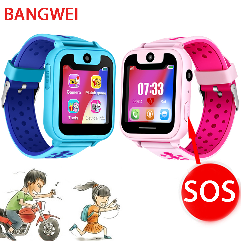 2018 New Smart watch LBS Kid SmartWatches Baby Watch for Children SOS Call Location Finder Locator Tracker Anti Lost Monitor+Box