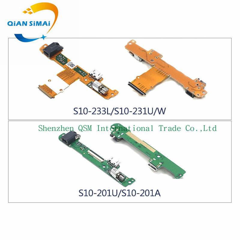 Flex-Cable Usb-Charging-Board-Port Huawei Mediapad S10-231 1PCS for 10-LINK/LTE-A/S10-201L/..