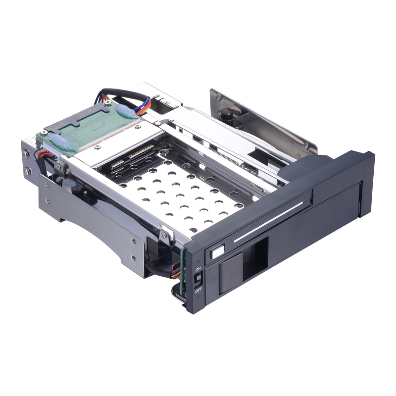 Uneatop ST7221 2 5in and 3 5in dual bay optibay adapter 5 25in SATA hard disk