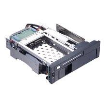 Uneatop ST7221 $ number pulgadas y $ number pulgadas de doble bahía optibay adaptador 5.25in Interno del disco duro SATA de 2 TB HDD Mobile Rack