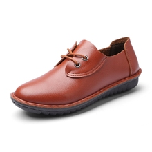 2016ร้อนใหม่รองเท้าไม่มีส้น,ผู้หญิงโลฟเฟอร์,ผู้หญิงแบน,หนังแท้วัวสุภาพสตรีรองเท้าสำหรับผู้หญิงรองเท้าลำลอง ,ผู้หญิงรองเท้า6-290