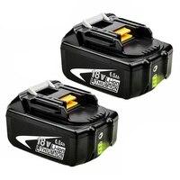 Original Makita Battery 18V Doscing 2Pcs 6000Mah Bl1860 Lithium Ion Replacement Power Tools Led Indicator Bl1850 Bl1840 Bl1830