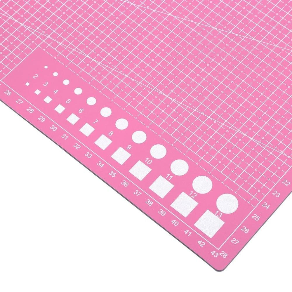 A3 Cutting Mat Cutting Underlay A3 Cutting Board Cutting Plate Handmade Tool For Hand Form Block Durable PVC Material