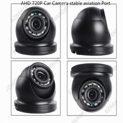 AHD 720P wewnętrzna plastikowa kamera samochodowa  IR Night VIsion  interfejs lotniczy dla autobusów samochodów ciężarowych Vans Taxi