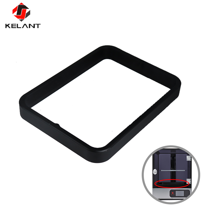Kelant Anodized Aluminium Resin Vat Tank for S400 3d Printer parts Fully Metal Frame and Durable FEP film steel ring installedKelant Anodized Aluminium Resin Vat Tank for S400 3d Printer parts Fully Metal Frame and Durable FEP film steel ring installed