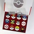 Новый Стиль 12 шт./компл. Pokeball Металлический Кулон Poke Бал Брелок Цифры Сплава Ожерелье Подвески Аниме Коллекции Дети Подарки Игрушки
