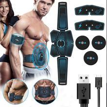 2019 wszystkie nowe wibracje elektryczne ABS stymulator EMS brzuch trener mięśni Sport wyszczuplanie ciała utrata pas do ćwiczeń