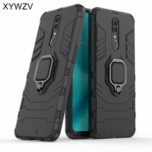 For OPPO F11 Case Shockproof Armor Silm Metal Finger Ring Holder Phone Case For OPPO F11 Back Cover For OPPO F11 OPPO A9 Fundas цена в Москве и Питере