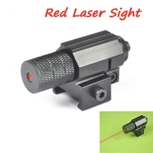 Tactical Red Dot Mini Red Laser Sight Gun Rifle Pistol Shot Airsoft Hunting Optics Rail Laser Weaver Picatinny Mount Riflescope