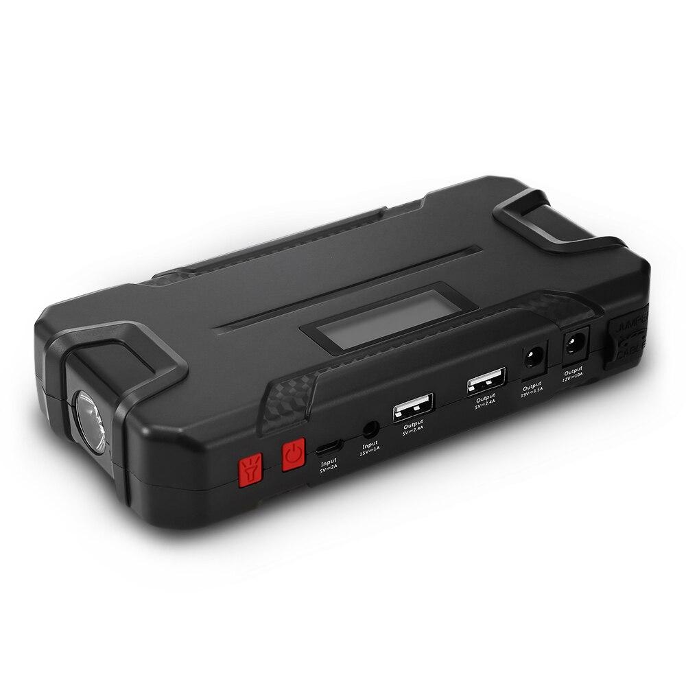 12000 mAh Multifonctionnel Voiture Jump Starter batterie externe De Voiture amplificateur de batterie dispositif intelligent Chargeur Dispositif de Démarrage led SOS Lumière - 2