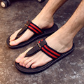 DreamShining Fashion Summer PU Shoes Fashion Flip Flops Men Sandals,Male Flat, Beach Slippers Size 40 - 44