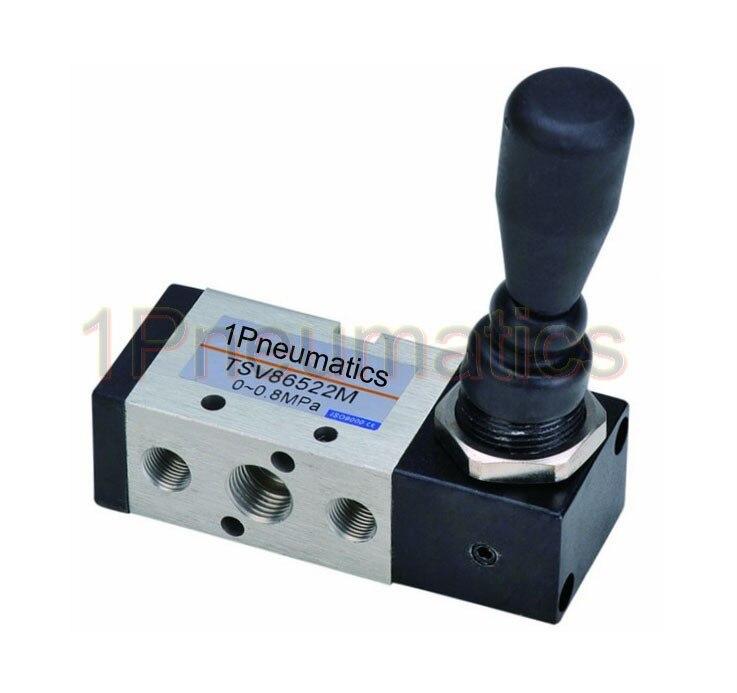 """Высокое качество SHAKO модель TSV86522M 5 способ 2 положения фиксированный 1/"""" ручной рычаг Детент Пневматический воздушный клапан"""