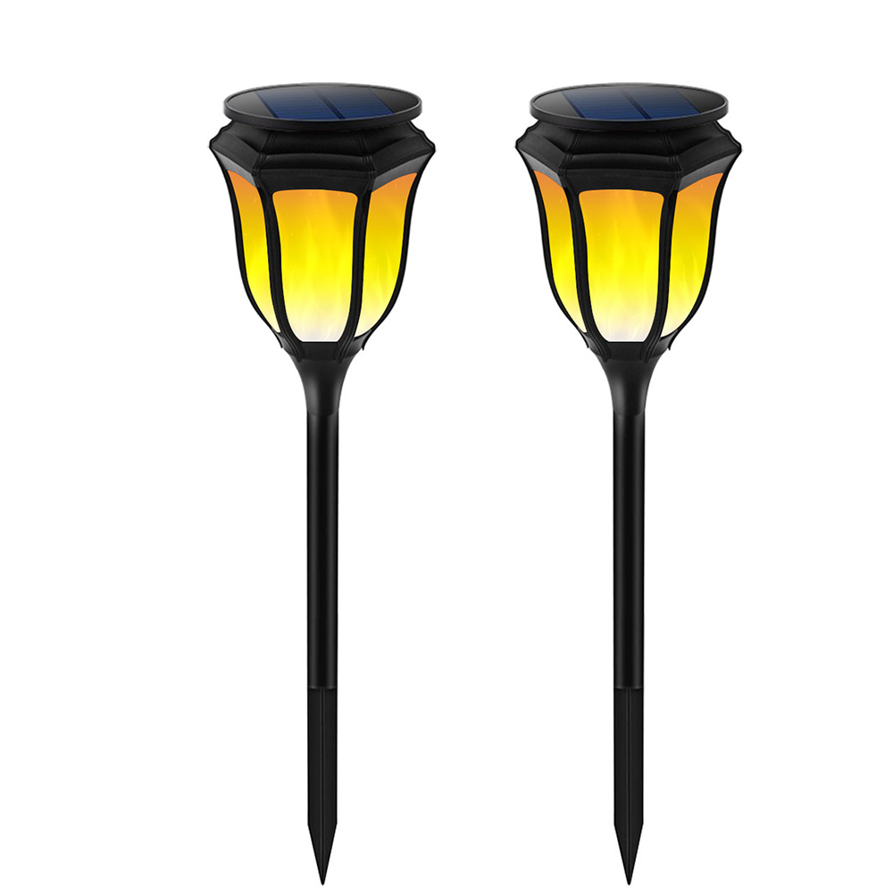 Solar Torch Lights Waterproof Flame Lighting Lamps 96LED Outdoor Sensor Solar Garden Light For Garden Landscape Lawn Patio Deck ...