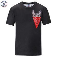 Mr.1991INC New Arrivals Men/Women 3d T-shirt Print Face Towel Cat Tees Summer Tops Cool T shirts